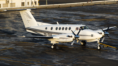 ZS-TGS - Beechcraft B200 Super King Air - Private