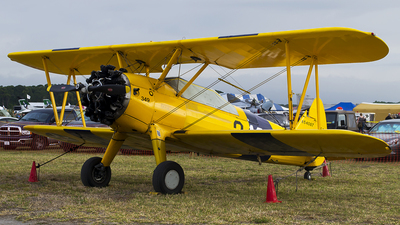 N54087 - Boeing E75 Stearman - Private