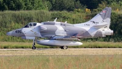 A picture of CFGZE - McDonnell Douglas A4N Skyhawk - [14495] - © Christian Winkel