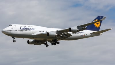 D-ABVE - Boeing 747-430 - Lufthansa