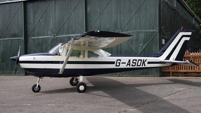 A picture of GASOK - Cessna F172F Skyhawk - [0057] - © Ian Johnson