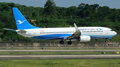 B-6887 - Boeing 737-8MC - Xiamen Airlines