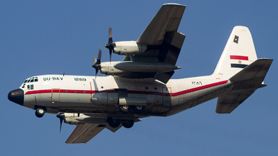 1289 - Lockheed VC-130H Hercules - Egypt - Air Force