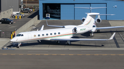 N537BT - Gulfstream G550 - Private