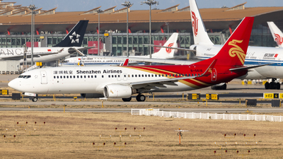 A picture of B5616 - Boeing 73787L - Shenzhen Airlines - © WYANG0520