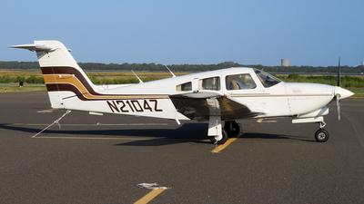 N2104Z - Piper PA-28R-201T Turbo Arrow - Private