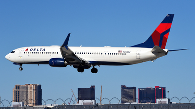 A picture of N858DZ - Boeing 737932(ER) - Delta Air Lines - © Rocky Wang