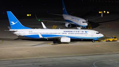 A picture of B1371 - Boeing 73785C - Xiamen Air - © Xuanting Wang
