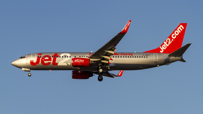 A picture of GGDFX - Boeing 7378K5 - Jet2 - © AvA
