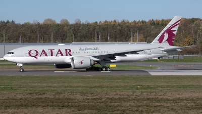 A picture of A7BBG - Boeing 7772DZ(LR) - Qatar Airways - © PAUL LINK