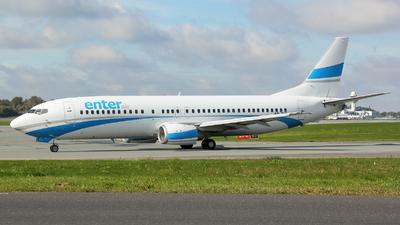 SP-ENI - Boeing 737-43Q - Enter Air