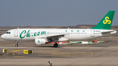 A picture of B6972 - Airbus A320214 - Spring Airlines - © PENCIL202_