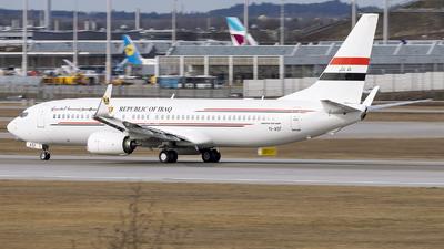 A picture of YIASF - Boeing 73781Z - Iraqi Airways - © Loredana Cioclei