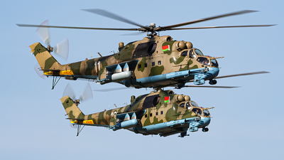 11 - Mil Mi-24P Hind F - Belarus - Air Force