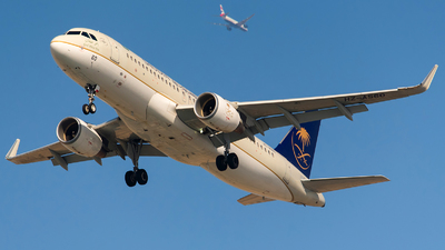 A picture of HZAS60 - Airbus A320214 - Saudia - © Agil Ismail