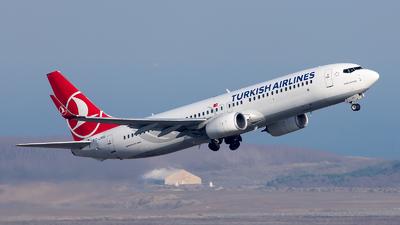 A picture of TCJVU - Boeing 7378F2 - Turkish Airlines - © Mustafa Sandikci