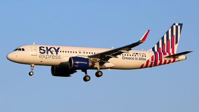 A picture of SXTEC - Airbus A320251N - Sky Express - © Muccapazza75 - Leone Roberto