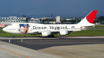 JA8907 - Boeing 747-446D - Japan Airlines (JAL)