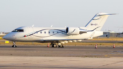 9H-ICY - Bombardier CL-600-2B16 Challenger 601 - Air CM Global