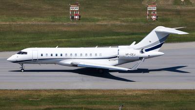 VP-CEJ - Bombardier BD-700-1A10 Global 6000 - Private