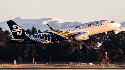 ZK-OXG - Airbus A320-232 - Air New Zealand