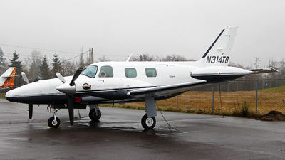 N314TD - Piper PA-31T Cheyenne - Private
