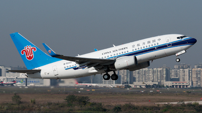 B-5233 - Boeing 737-71B - China Southern Airlines