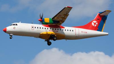 OY-CIR - ATR 42-300 - Danish Air Transport (DAT)