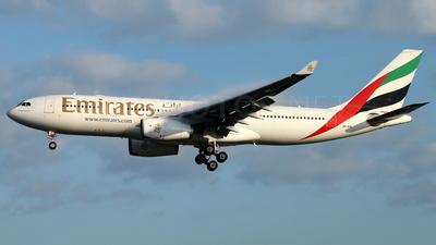 A6-EAI - Airbus A330-243 - Emirates
