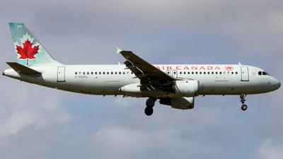 C-FNVU - Airbus A320-211 - Air Canada