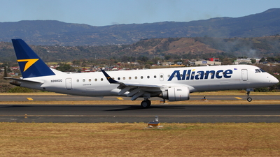 N998QQ - Embraer 190-100IGW - Alliance Airlines