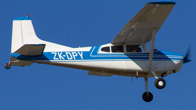 ZK-DPY - Cessna 185A Skywagon - Private