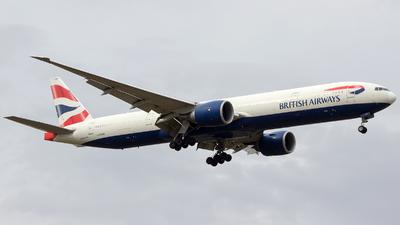 G-STBB - Boeing 777-36NER - British Airways
