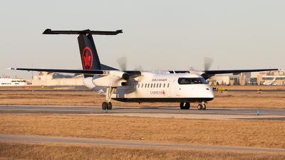 C-FRUZ - Bombardier Dash 8-311 - Air Canada Express (Jazz Aviation)