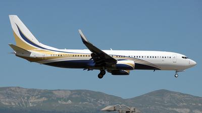 N737GG - Boeing 737-8KT(BBJ2) - Mid East Jet