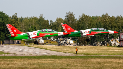 07 - Aero L-39 Albatros - Belarus - Air Force