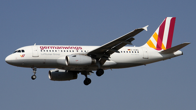 D-AGWQ - Airbus A319-132 - Germanwings