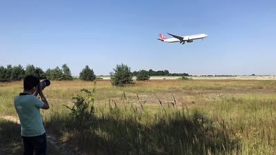UKBB - Airport - Spotting Location