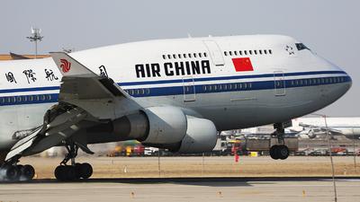 B-2445 - Boeing 747-4J6 - Air China
