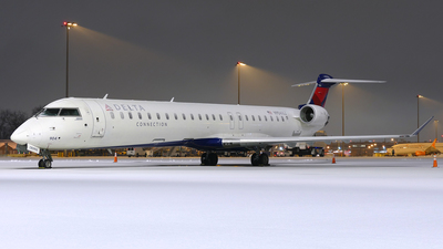 A picture of N904XJ - Mitsubishi CRJ900LR - Delta Air Lines - © Craig L Baldwin