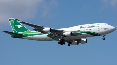 YI-ASA - Boeing 747-4H6 - Iraqi Airways
