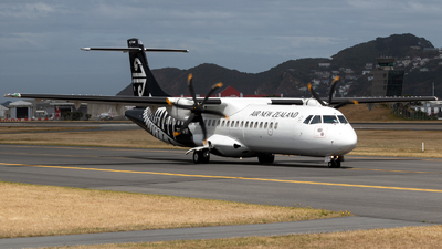 ZK-MVI - ATR 72-212A(600) - Air New Zealand