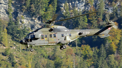 T-331 - Eurocopter AS 532UL Cougar - Switzerland - Air Force