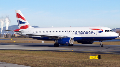 A picture of GMIDX - Airbus A320232 - British Airways - © Hugo Schwarzer