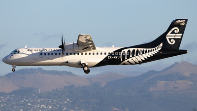 ZK-MVJ - ATR 72-212A(600) - Air New Zealand