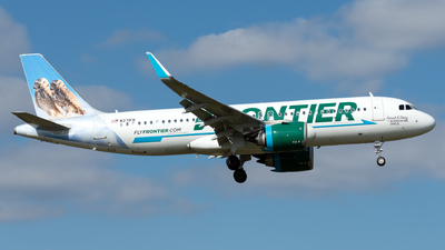N371FR - Airbus A320-251N - Frontier Airlines