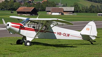 HB-OLW - Piper PA-18-105 Super Cub - Private
