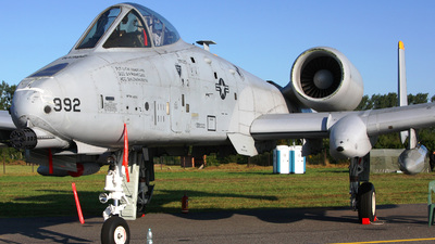 81-0992 - Fairchild A-10A Thunderbolt II - United States - US Air Force (USAF)