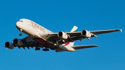 A6-EDH - Airbus A380-861 - Emirates