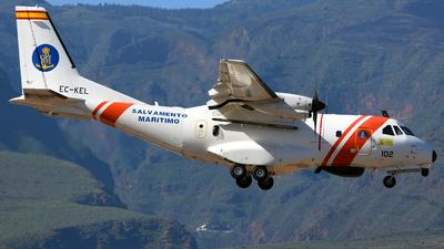 EC-KEL - CASA CN-235-300 - Spain - Sociedad de Salvamento y Seguridad Marítima (SASEMAR)